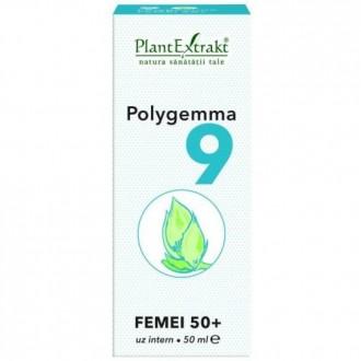 Polygemma 9 Femei 50+ 50ml Plantextrakt