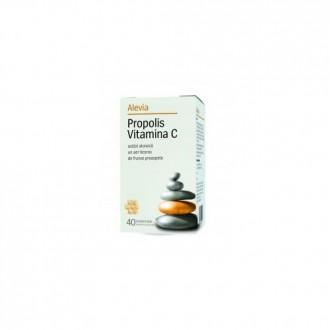 Propolis Vitamina C 20 comprimate Alevia
