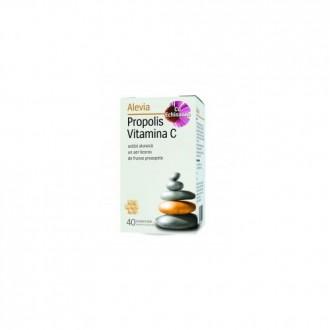 Propolis vitamina c cu echinacea 40cpr