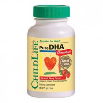 Pure DHA 90tb(gust de fructe) - ChildLife Essentials - Secom