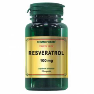 Resveratrol Premium 100mg 30 capsule Cosmopharm