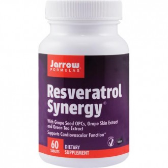 Resveratrol Synergy 60tb - Jarrow Formulas - Secom