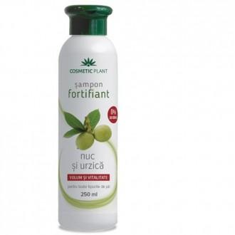 Sampon Fortifiant cu nuc si urzica 250ml Cosmetic Plant