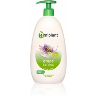 Sapun Crema Hidratant Floarea Pasiunii & Struguri 500ml Elmiplant