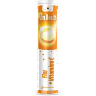 Sun health fier+vitamina c 20cpr SUN WAVE PHARMA