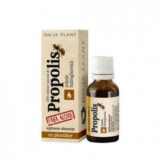 Propolis fara alcool - 20ml - Dacia Plant
