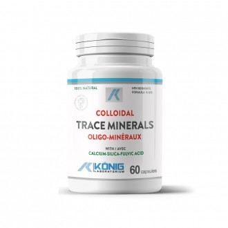 Minerale Trasoare Coloidale Organice cu Acid Fulvic Konig Laboratorium 60 capsule