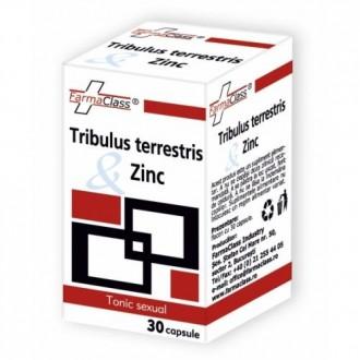 TRIBULUS TERRESTRIS SI ZINC 30cps, FARMACLASS
