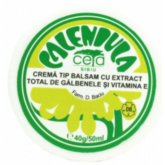 Unguent galbenele+vitamina e 40gr 50ml CETA