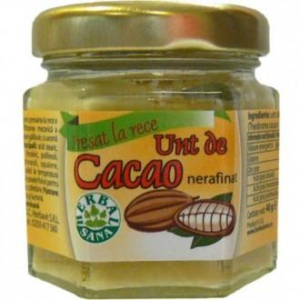 Unt de cacao nerafinat 40g - Herbavit
