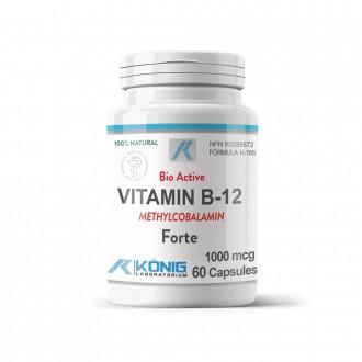 Vitamina B12 Bio-Activa Konig Laboratorium 1000 mcg 60 capsule