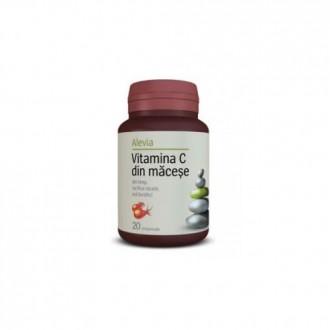 Vitamina c din macese 20cpr