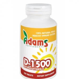 Vitamina d-1500 180cpr