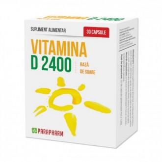 Vitamina d 2400 30 capsule PARAPHARM