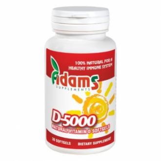 Vitamina d-5000 naturala 30 capsule