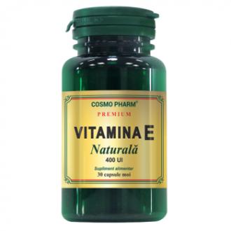 Vitamina e naturala 30 capsule COSMOPHARM PREMIUM