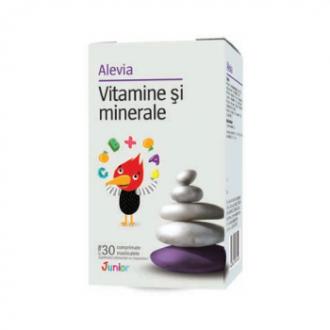 Vitamine si minerale junior 30cpr