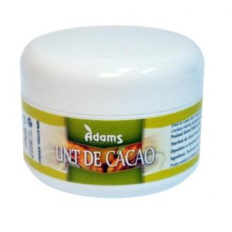 Unt de Cacao Organic 65g Adams Vision