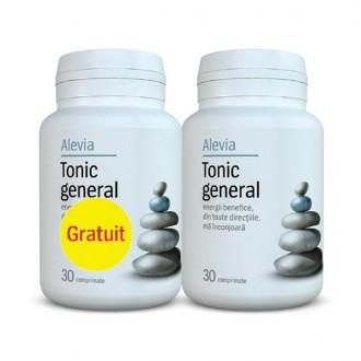 Pachet Tonic General (1+1 gratis) 30 comprimate Alevia