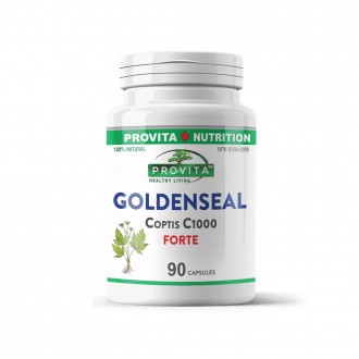 Goldenseal Coptis Provita Nutrition 1000 mg 90 capsule