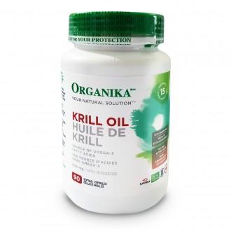KRILL OIL (Ulei de Krill) Organika 500 mg 90 capsule