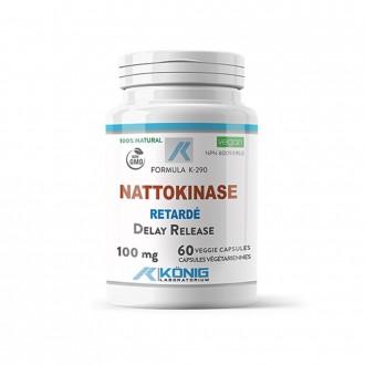Nattokinase (nattokinaza) Forte 60 de capsule vegetale