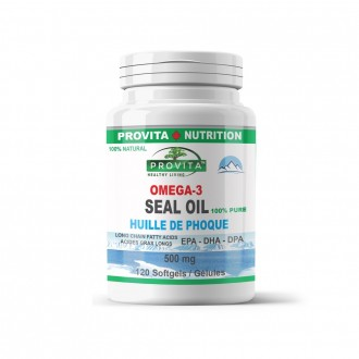 Omega 3 Ulei de Foca Provita Nutrition 500 mg 120 capsule