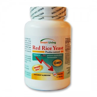 Red Rice Yeast - Orez rosu - 90 capsule