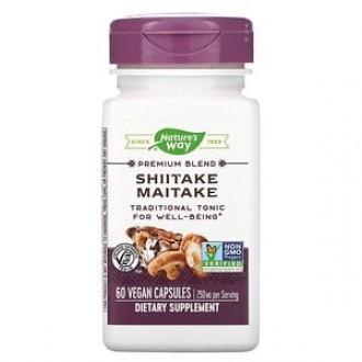 Shiitake Maitake 60 capsule Secom
