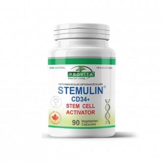 Stemulin CD34+ (generatia a II-a) 90 capsule de origine vegetala